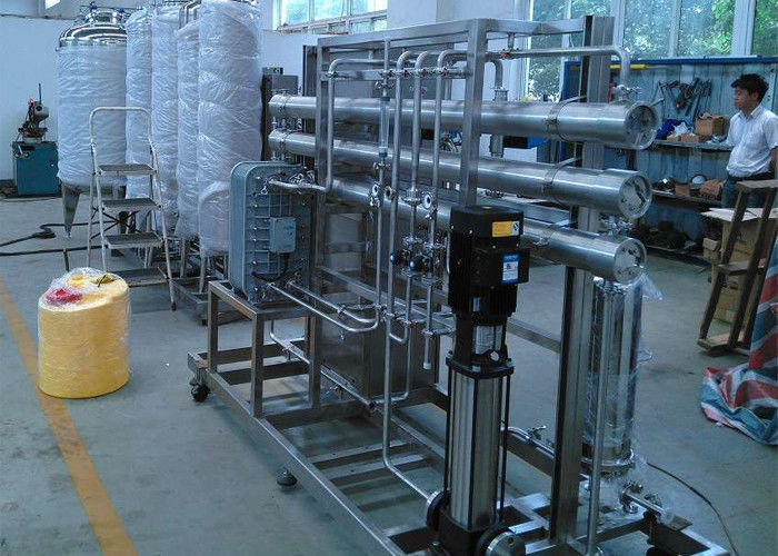 Automatic PLC PW reverse osmosis water systems for WFI URS / CP 1000L/H