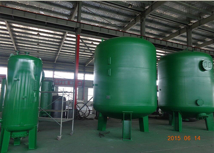 Silica Sand Filter Ro Pressure Water Purifier Tank In Suspended Solids And Turbidity Reduction Dia 600-3000 Mm