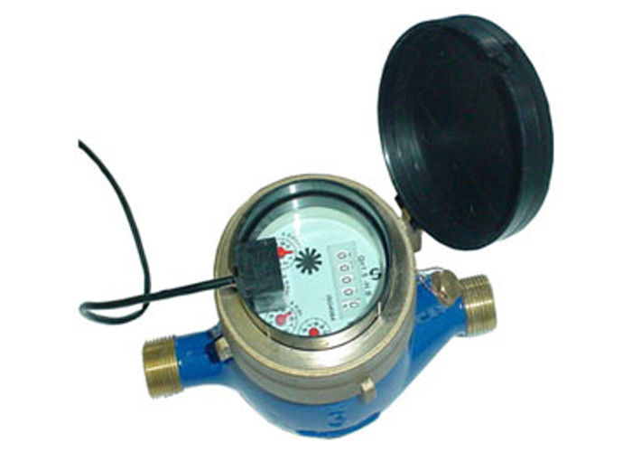 Impeller Multijet Water Meter With Pulse Emitter For Remote Reading Of Cold Water Brass DN20