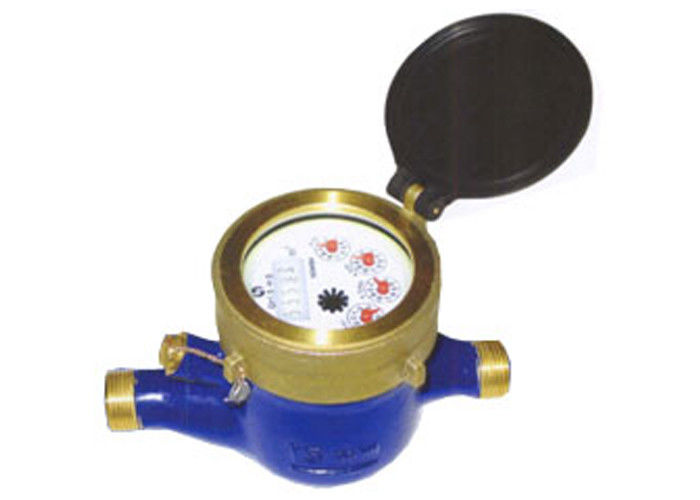 Pulse Output Multi Jet Water Meter For Bulk Volume Measurement In Cold Water DN25 Brass