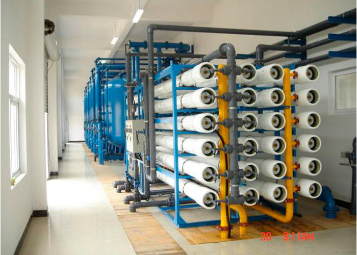 Super duplex high pressure pump sea water ro plant for seawater purification 550000 GPD
