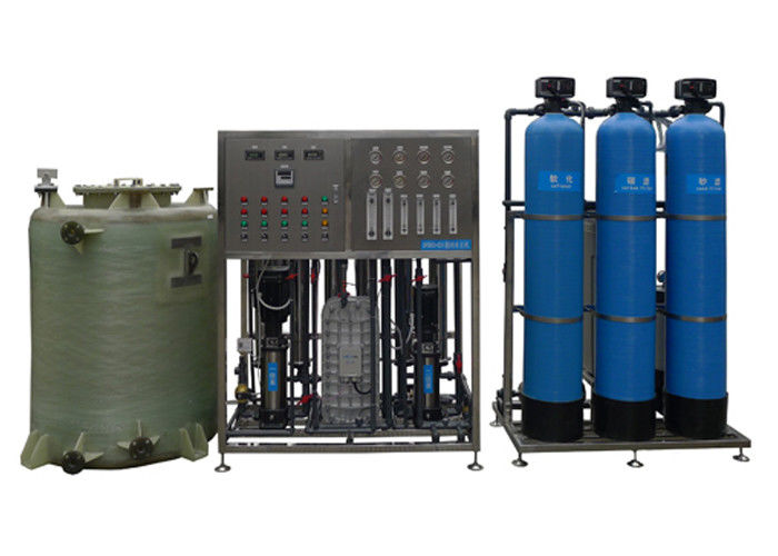 Ultrapure Brackish Water Reverse Osmosis Systems with nitrogen sealed tank RO+EDI