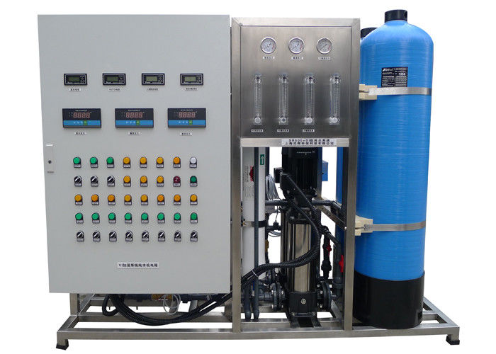 Vertical Commercial Reverse Osmosis systems for pure water 250L / H