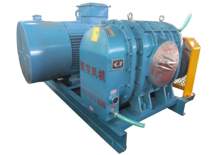 98kpa Tri lobe High pressure Roots blower for activated sludge systems